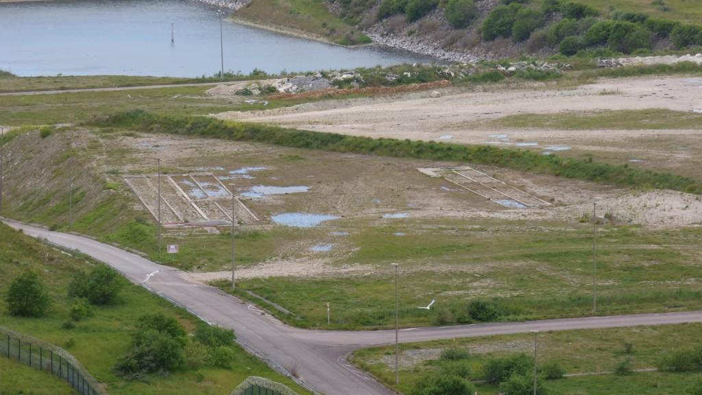 Les bungalows du chantier de l'EPR ne sont plus là ?